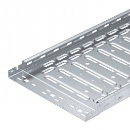Cable trays, plug connection