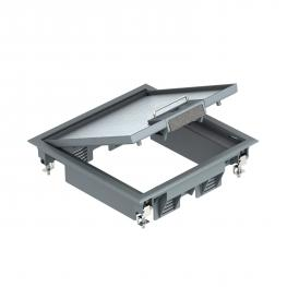 Floor sockets for underfloor applications