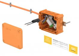 Systems for maintenance of electrical functionality - FireBox T series junction boxes