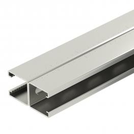 MS4182 mounting rail, slot 22 mm, double, perforated FS (F/A2)