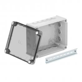 Junction box T250, with plug-in seal, transparent elevated cover