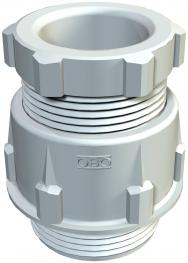 Cone cable gland, PG thread, light grey