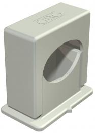 Pressure ISO clip 3050, single, light grey