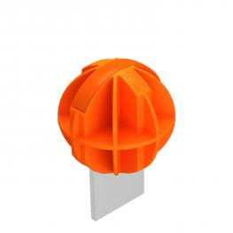 Protective cap for connection lugs, reflective
