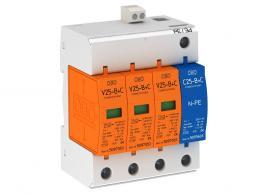 Combination arrestor V25, 3-pole + NPE 280 V with remote signalling