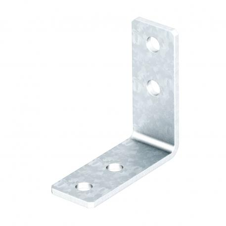 Mounting bracket, 90° with 4 holes FT