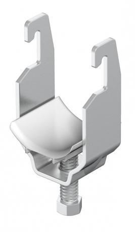Clamp clip, single, A2 plastic pressure trough