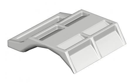 Counter-trough, plastic, universal