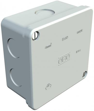 Junction box, B 40 M, without thread