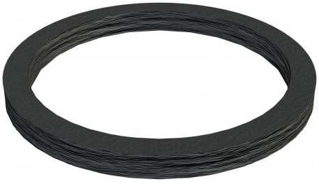 Connection thread sealing ring, metric