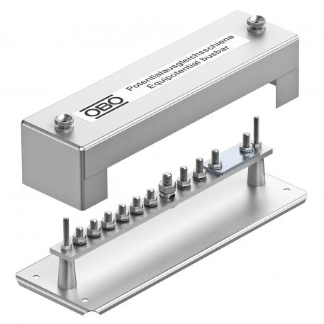 Equipotential busbar, solid version