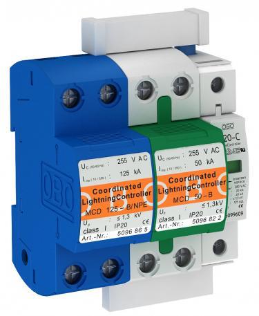 Protection set MCD + V20 1-pole + NPE