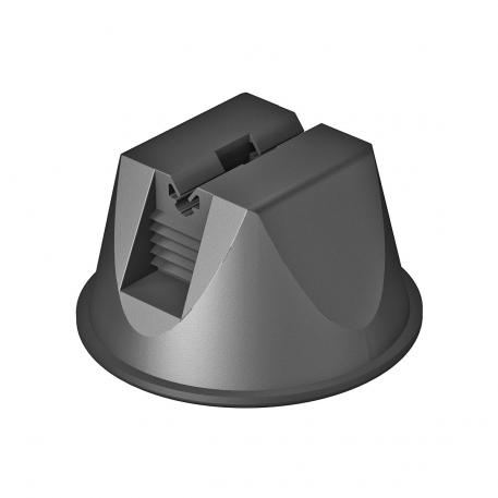 Roof conductor holder for flat roofs, without base