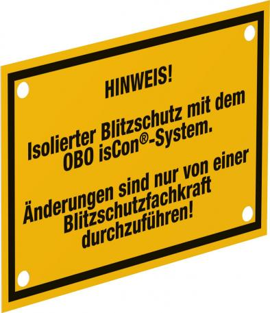 isCon® information panel