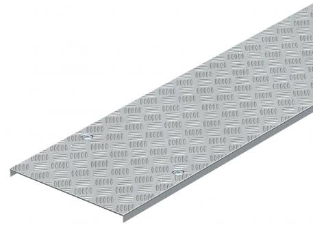 Chequer plate cover DRL BKS ALU