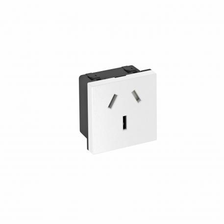 0° socket, China, 16 A, single