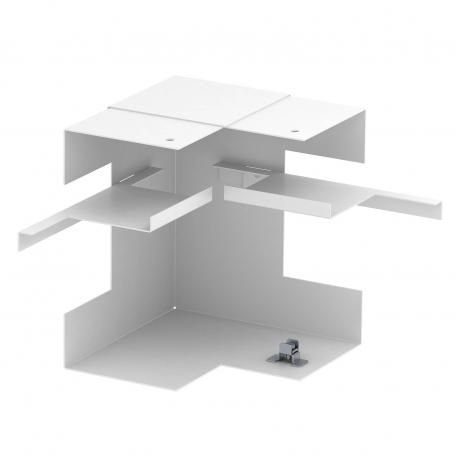 Internal corner, simplified, trunking height 90 mm
