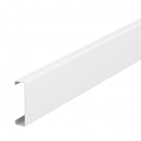 Sheet steel trunking cover, 50 mm system opening