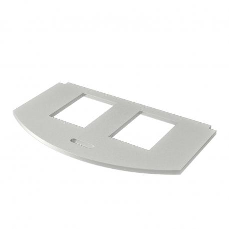 Mounting plate for data technology, type A