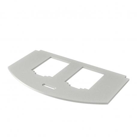Mounting plate for data technology, type B