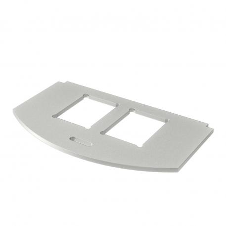 Mounting plate for data technology, type C